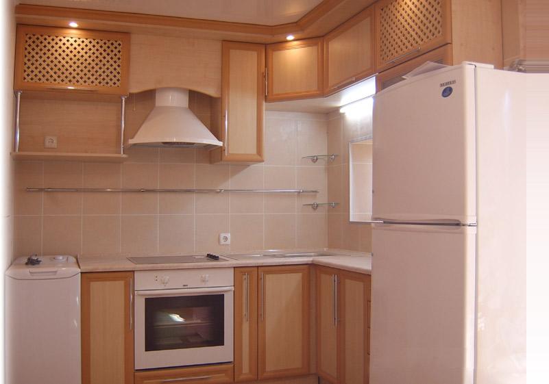 фото кухонь рамочный профиль